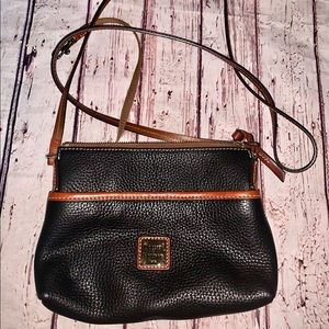 dooney & bourke Crossbody Black and Brown Bag